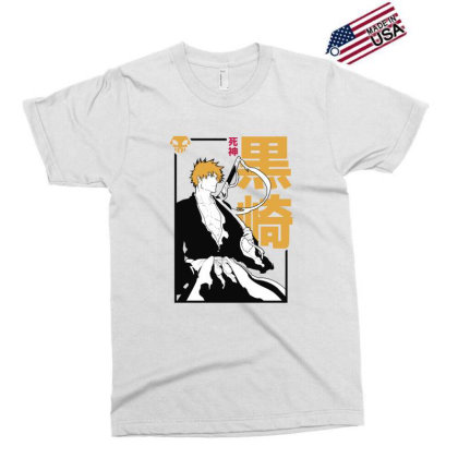 Bleach Ichigo Exclusive T-shirt Designed By Paísdelasmáquinas