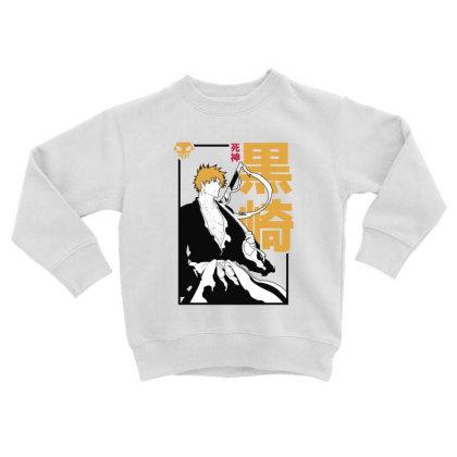 Bleach Ichigo Toddler Sweatshirt Designed By Paísdelasmáquinas