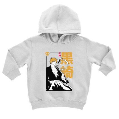 Bleach Ichigo Toddler Hoodie Designed By Paísdelasmáquinas