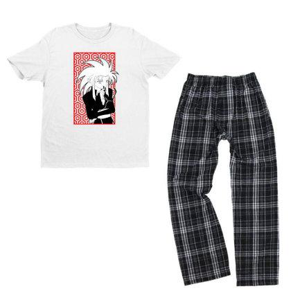 Ryoko Tenchi Youth T-shirt Pajama Set Designed By Paísdelasmáquinas