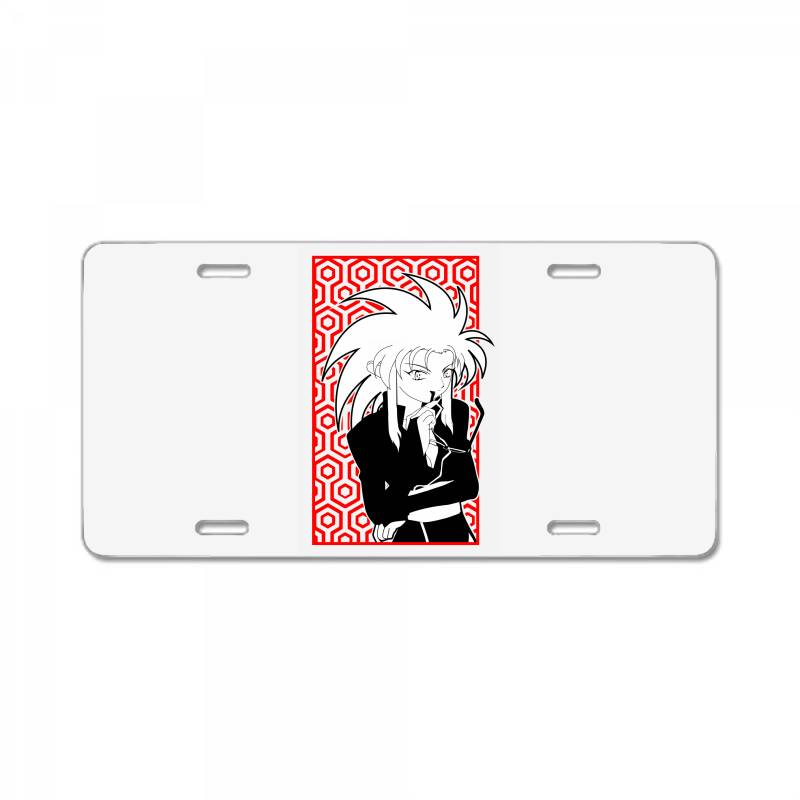 Ryoko Tenchi License Plate | Artistshot