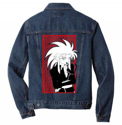 Ryoko Tenchi Men Denim Jacket Designed By Paísdelasmáquinas
