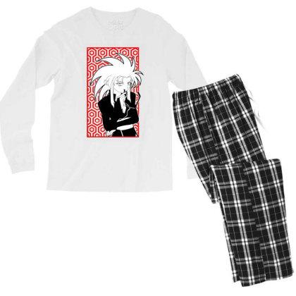 Ryoko Tenchi Men's Long Sleeve Pajama Set Designed By Paísdelasmáquinas