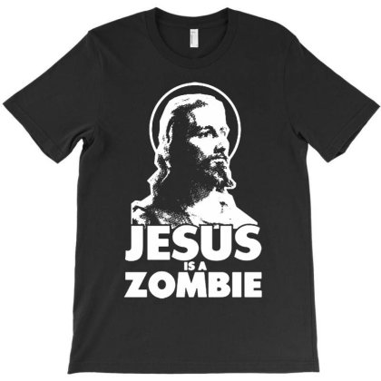 Zombie Jesus T-shirt Designed By Shirt1na