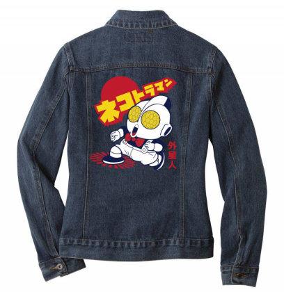 Nekotoroman Dr Slump Ladies Denim Jacket Designed By Paísdelasmáquinas