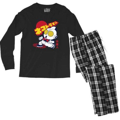 Nekotoroman Dr Slump Men's Long Sleeve Pajama Set Designed By Paísdelasmáquinas