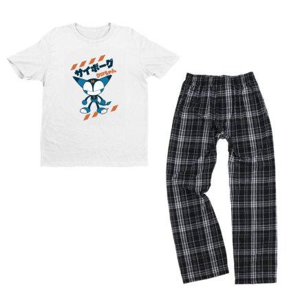 Kurochan Miku Youth T-shirt Pajama Set Designed By Paísdelasmáquinas
