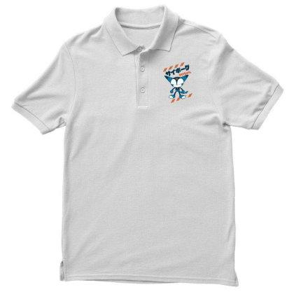 Kurochan Miku Men's Polo Shirt Designed By Paísdelasmáquinas
