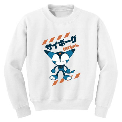 Kurochan Miku Youth Sweatshirt Designed By Paísdelasmáquinas
