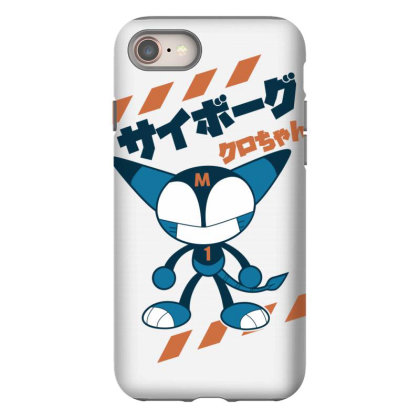 Kurochan Miku Iphone 8 Case Designed By Paísdelasmáquinas