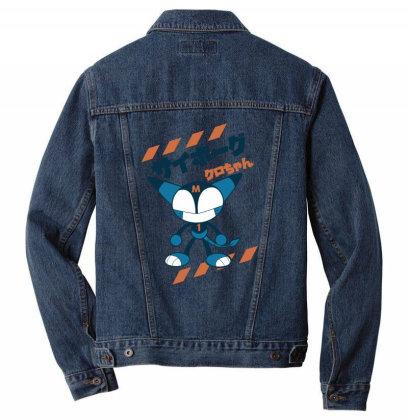 Kurochan Miku Men Denim Jacket Designed By Paísdelasmáquinas