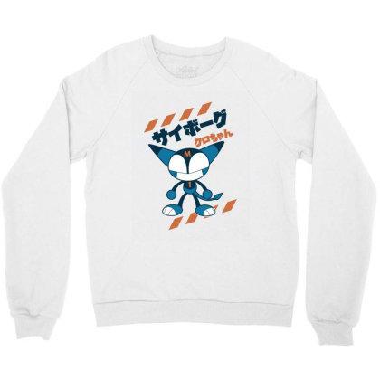 Kurochan Miku Crewneck Sweatshirt Designed By Paísdelasmáquinas
