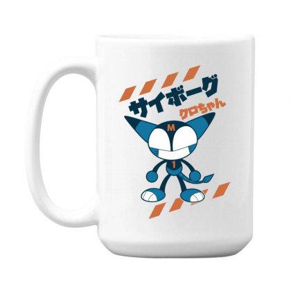 Kurochan Miku 15 Oz Coffe Mug Designed By Paísdelasmáquinas