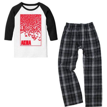 Akira Pills Youth 3/4 Sleeve Pajama Set Designed By Paísdelasmáquinas