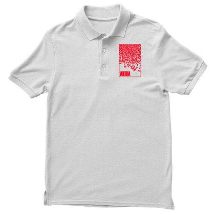 Akira Pills Men's Polo Shirt Designed By Paísdelasmáquinas