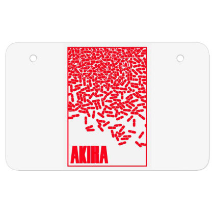 Akira Pills Atv License Plate Designed By Paísdelasmáquinas