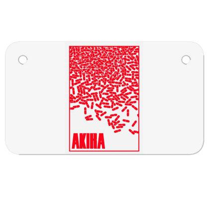 Akira Pills Motorcycle License Plate Designed By Paísdelasmáquinas