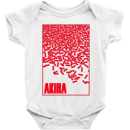 Akira Pills Baby Bodysuit Designed By Paísdelasmáquinas