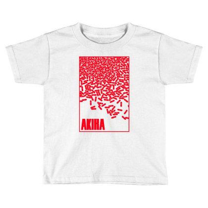 Akira Pills Toddler T-shirt Designed By Paísdelasmáquinas