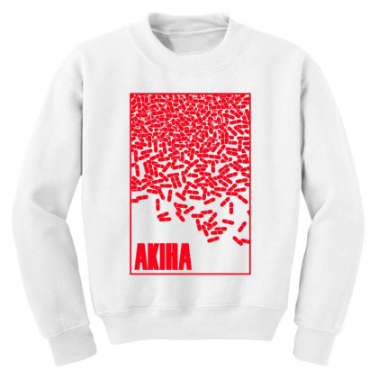 Akira Pills Youth Sweatshirt Designed By Paísdelasmáquinas