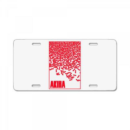 Akira Pills License Plate Designed By Paísdelasmáquinas