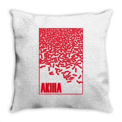 Akira Pills Throw Pillow Designed By Paísdelasmáquinas