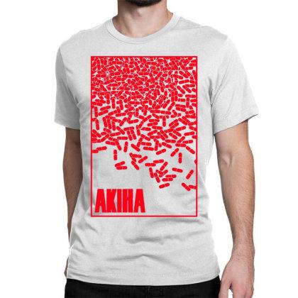 Akira Pills Classic T-shirt Designed By Paísdelasmáquinas