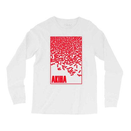 Akira Pills Long Sleeve Shirts Designed By Paísdelasmáquinas