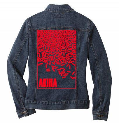Akira Pills Ladies Denim Jacket Designed By Paísdelasmáquinas