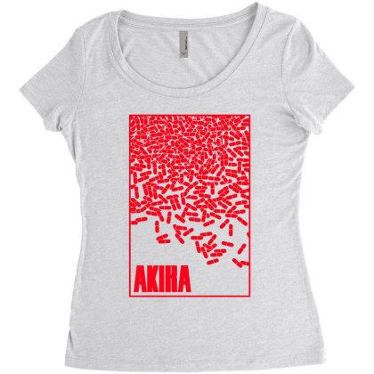 Akira Pills Women's Triblend Scoop T-shirt Designed By Paísdelasmáquinas