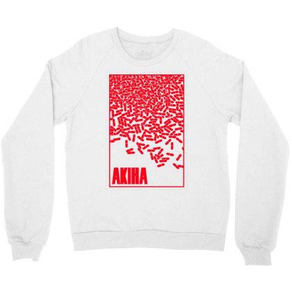 Akira Pills Crewneck Sweatshirt Designed By Paísdelasmáquinas