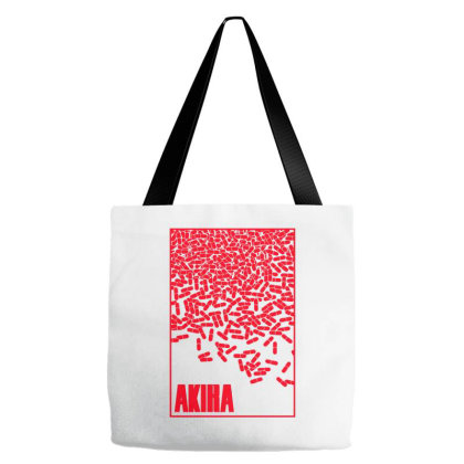 Akira Pills Tote Bags Designed By Paísdelasmáquinas