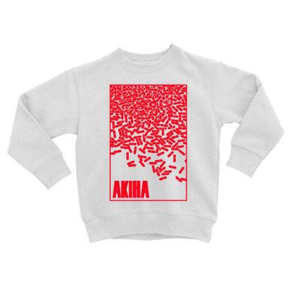 Akira Pills Toddler Sweatshirt Designed By Paísdelasmáquinas