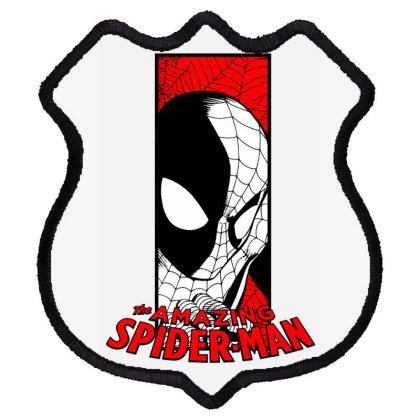 Spiderman Shield Patch Designed By Paísdelasmáquinas