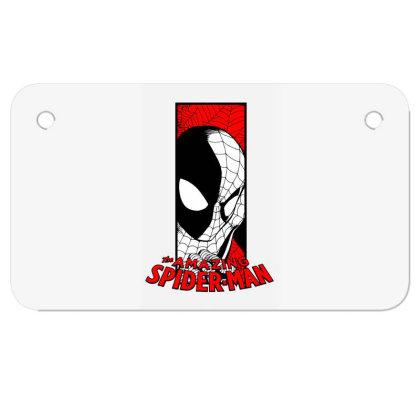 Spiderman Motorcycle License Plate Designed By Paísdelasmáquinas