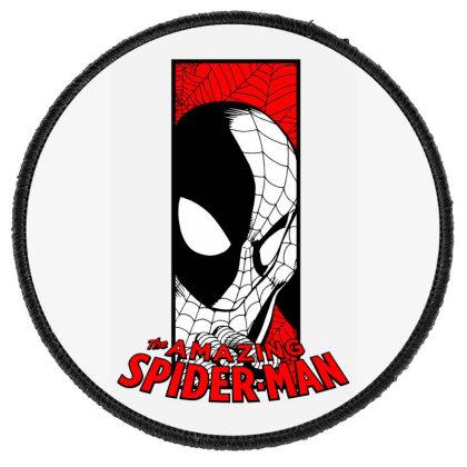 Spiderman Round Patch Designed By Paísdelasmáquinas