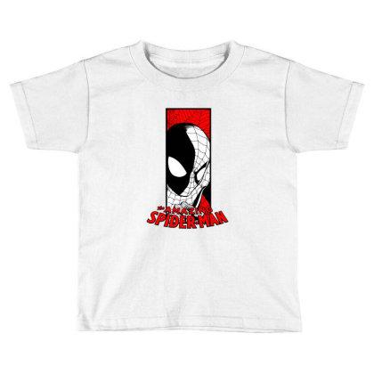 Spiderman Toddler T-shirt Designed By Paísdelasmáquinas