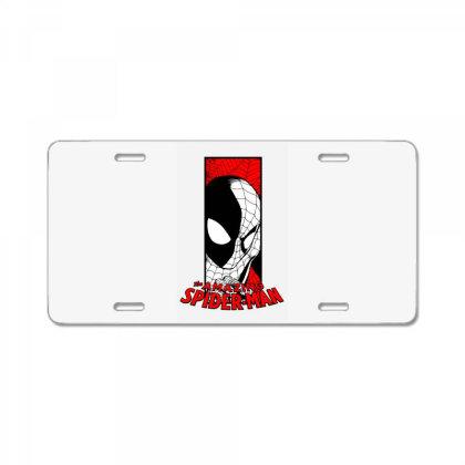 Spiderman License Plate Designed By Paísdelasmáquinas