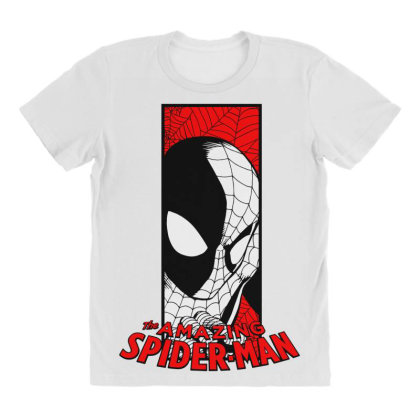 Spiderman All Over Women's T-shirt Designed By Paísdelasmáquinas