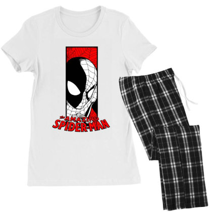 Spiderman Women's Pajamas Set Designed By Paísdelasmáquinas