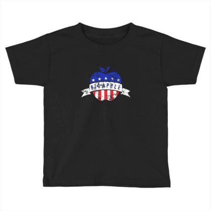 Big Apple Toddler T-shirt Designed By Asatya