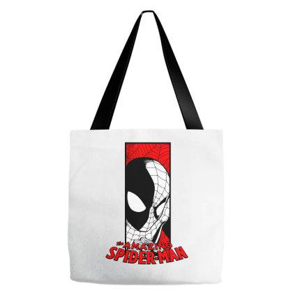 Spiderman Tote Bags Designed By Paísdelasmáquinas