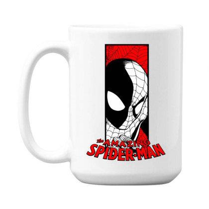 Spiderman 15 Oz Coffe Mug Designed By Paísdelasmáquinas