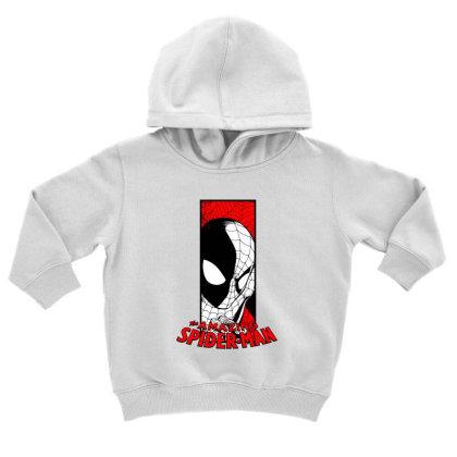 Spiderman Toddler Hoodie Designed By Paísdelasmáquinas