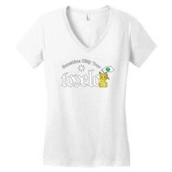 tove lo, alma, broods   sunshine kitty tour 2020 front Women's V-Neck T-Shirt | Artistshot