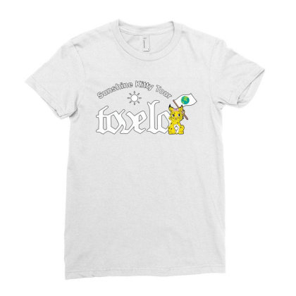 Tove Lo, Alma, Broods   Sunshine Kitty Tour 2020 Front Ladies Fitted T-shirt Designed By Decade870909