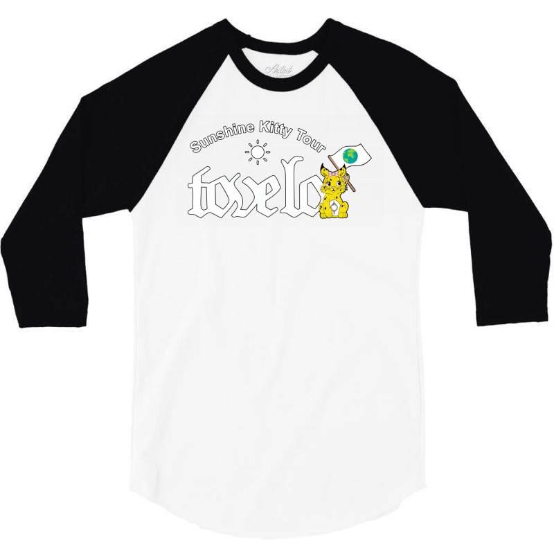 Tove Lo, Alma, Broods   Sunshine Kitty Tour 2020 Front 3/4 Sleeve Shirt   Artistshot
