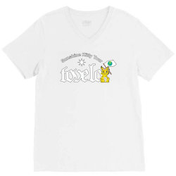 tove lo, alma, broods   sunshine kitty tour 2020 front V-Neck Tee | Artistshot