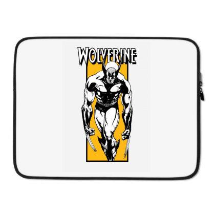 Wolverine Laptop Sleeve Designed By Paísdelasmáquinas