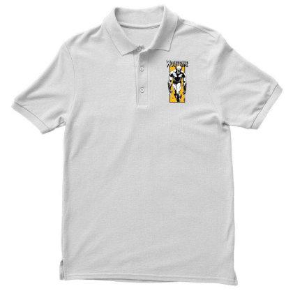 Wolverine Men's Polo Shirt Designed By Paísdelasmáquinas